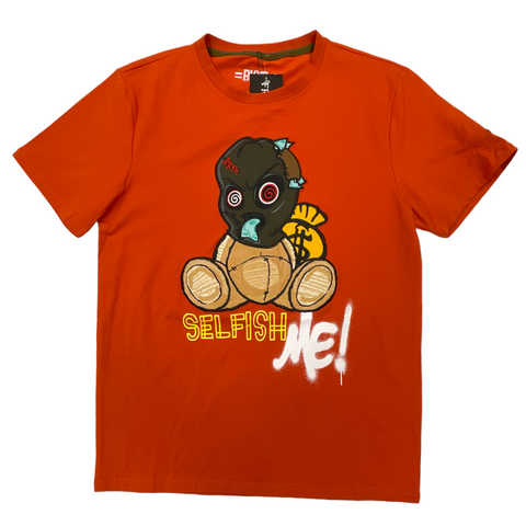 BKYS 'Selfish Me!' T-Shirt (Rust)