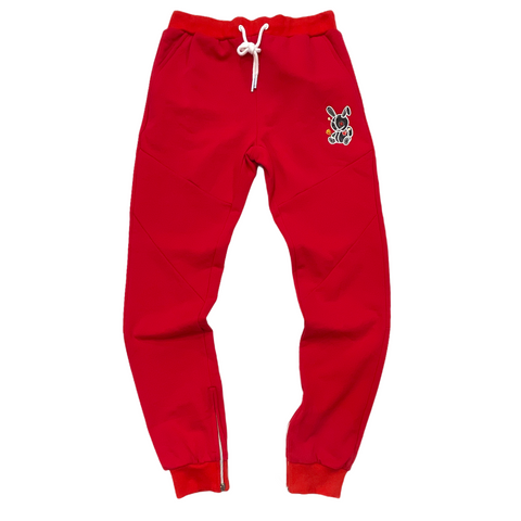 BKYS 'Lucky Charm' Joggers (Red)