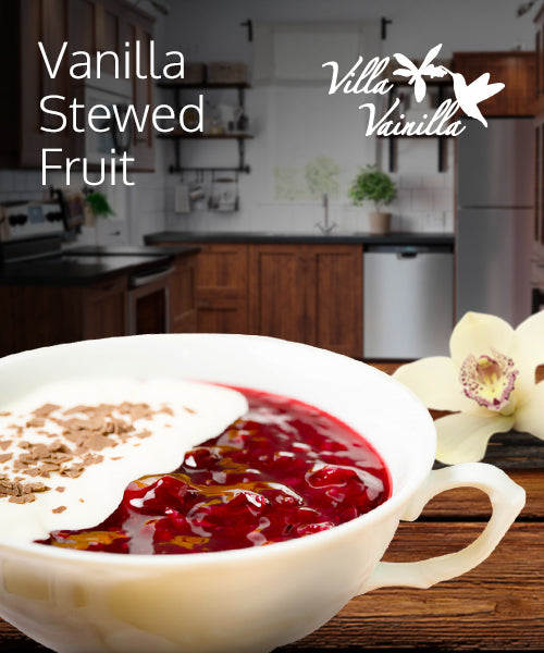 Vanilla Stewed Fruit Recipe