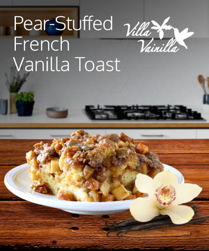 Pear-Stuffed French Vanilla Toast
