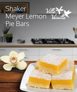 Shaker meyer lemon pie bars
