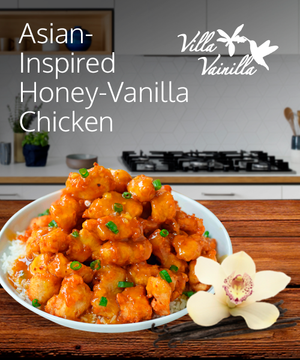 Asian-Inspired Honey-Vanilla Chicken