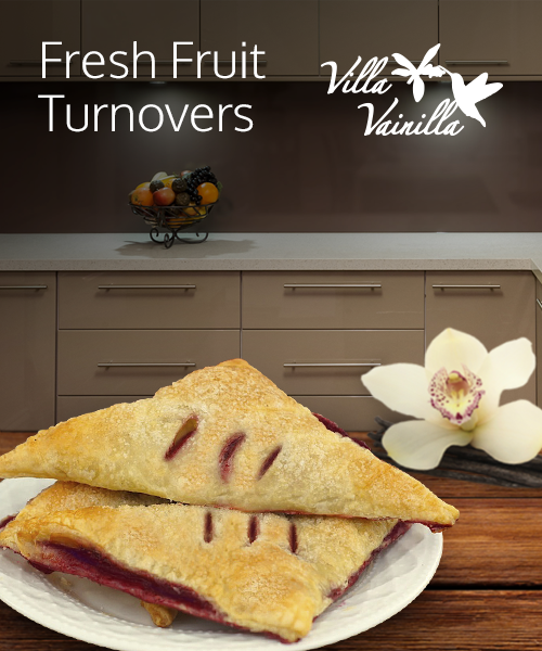 Fresh Fruit Turnovers