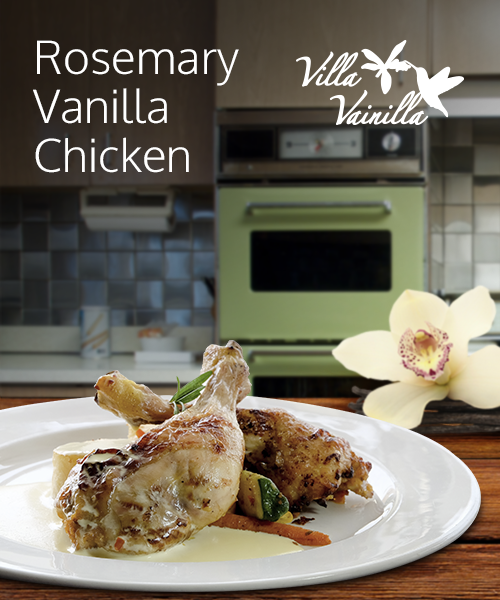 ROSEMARY VANILLA CHICKEN