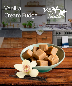 Vanilla Cream Fudge