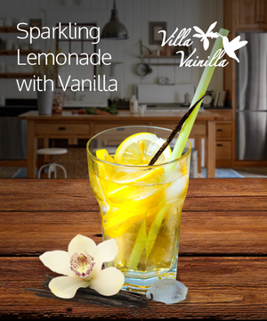 Sparkling Lemonade with Vanilla