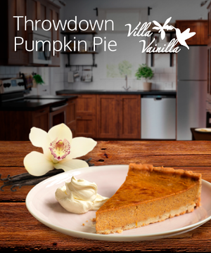 Throwdown Pumpkin Pie