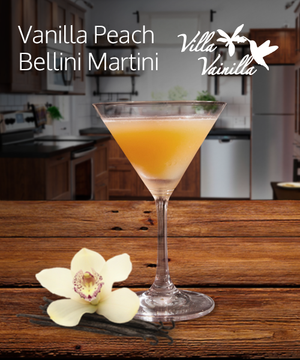 Vanilla Peach Bellini Martini