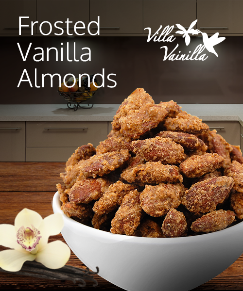 Frosted Vainilla Almonds