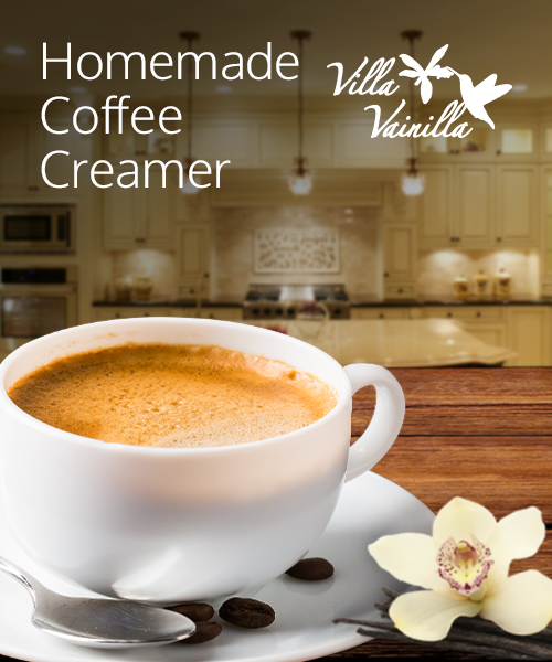 Vainilla Coffee Creamer Recipe
