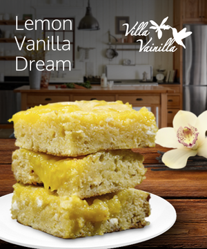 Lemon Vainilla Dream Bar Recipe