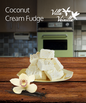 Coconut Cream Fudge