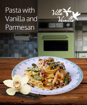Pasta with Vanilla and Parmesan