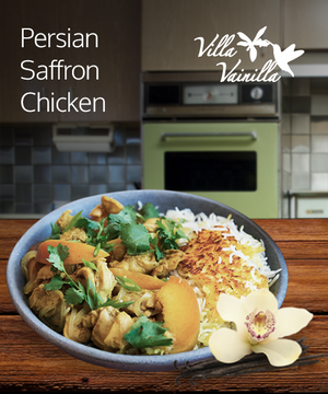 Persian Saffron Chicken