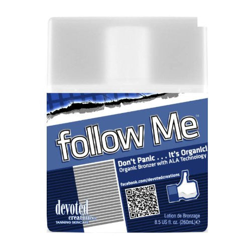 Follow Me Organic Bronzer With Anti-Aging Formula 8.5 Oz , Bronzer, Devoted Creations, Sunless Deals
