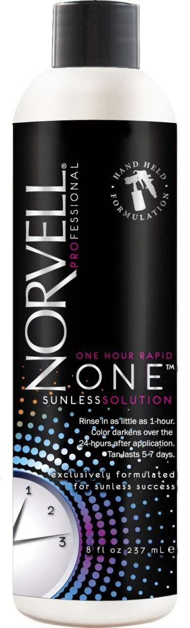 Norvell<Br> One - One Hour Super Sunless Xla-R8R Handheld Solutions 8 Oz. , Airbrush Solutions, Norvell, Sunless Deals