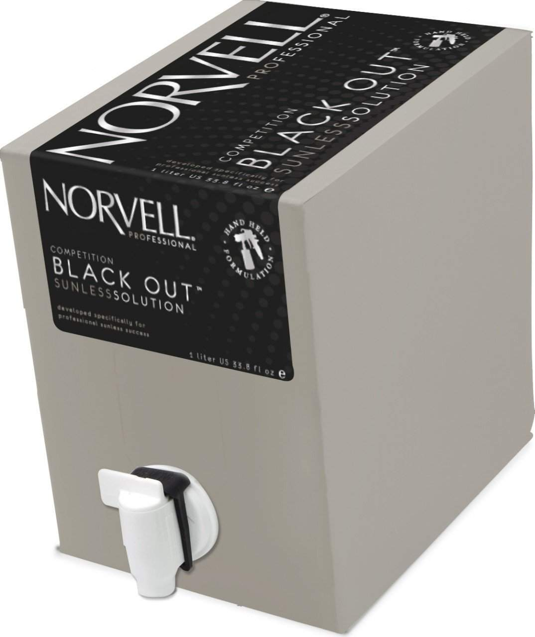 Norvell Competition Black Out Sunless Solution , Airbrush Solutions, Norvell, Sunless Deals