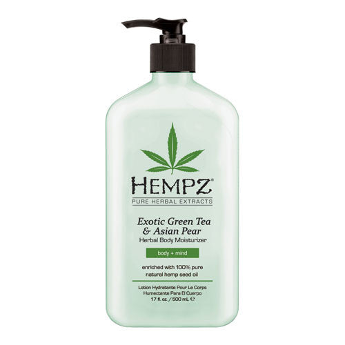 Hempz Exotic Green Tea & Asian Pear Herbal Body Moisturizer , Moisturizer, Hempz, Sunless Deals - 1