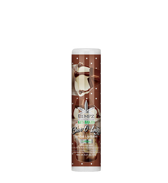 Hempz Limited Edition Choc-O-Latte Herbal Lip Balm .25 oz.