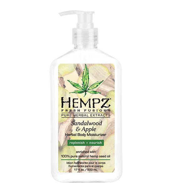 Hempz Sandalwood & Apple Herbal Body Moisturizer 17oz.
