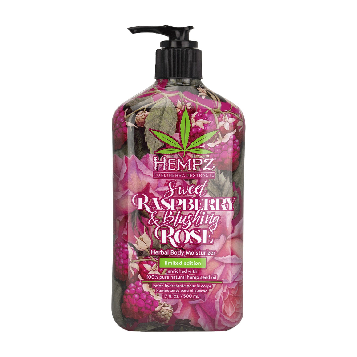 Hempz Sweet Raspberry & Blushing Rose Body Moisturizer