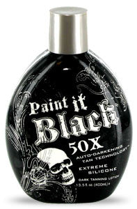 Millennium Tanning Paint It Black 50X 13.5 oz. , Bronzer, Millennium Tanning, Sunless Deals