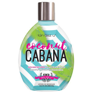 Tan Asz U Coconut Cabana Black Bronzer 13.5 oz.