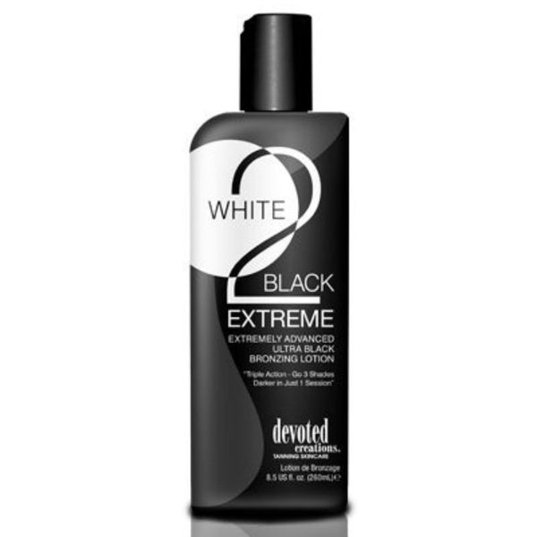 White 2 Black Extreme Black Bronzer - 8.5 oz. , Bronzer, Devoted Creations, Sunless Deals