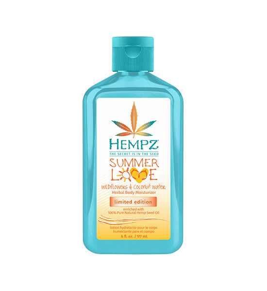 Summer Love Wildflowers & Coconut Water Herbal Body Moisturizer