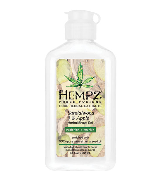 Hempz Sandalwood & Apple Body Herbal Shave Gel 6oz