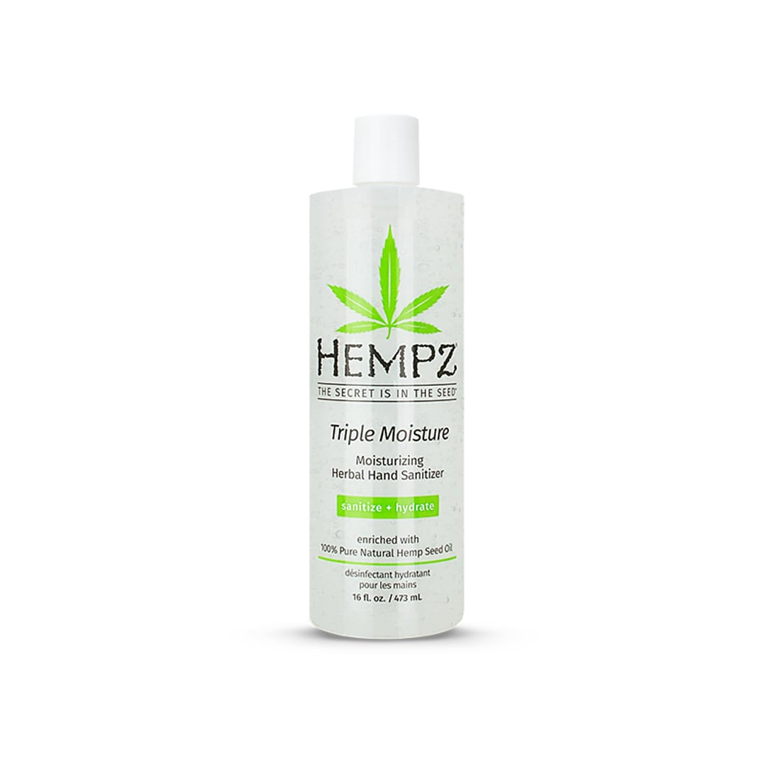 Hempz Herbal Triple Moisture Flip Top Hand Sanitizer 16oz