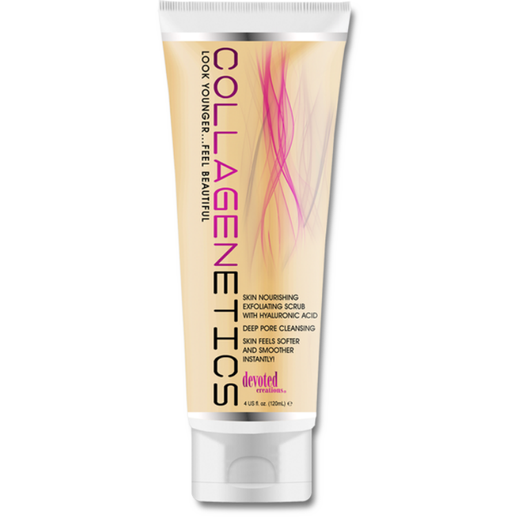 Collagenetics Pre-Scrub Step 1 - 4 oz. , Body Scrub, Devoted Creations, Sunless Deals