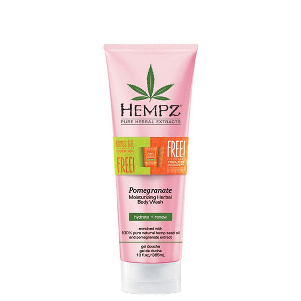 Bonus Size Hempz Pomegranate Body Wash