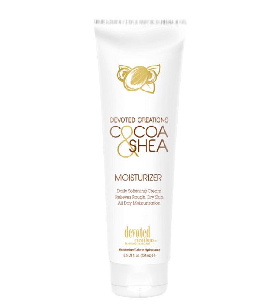 Devoted Creations Cocoa & Shea Moisturizer 8.5oz.