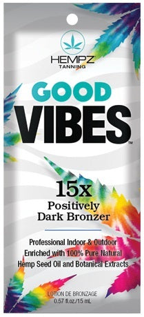 Good Vibes Tanning Lotion Packet