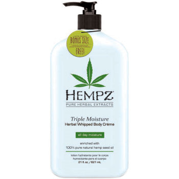 Hempz Triple Moisture Herbal Whipped Body Creme - 21 oz.