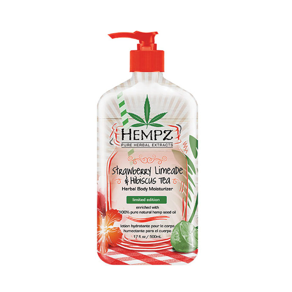 Strawberry Limeade & Hibiscus Tea Herbal Body Moisturizer