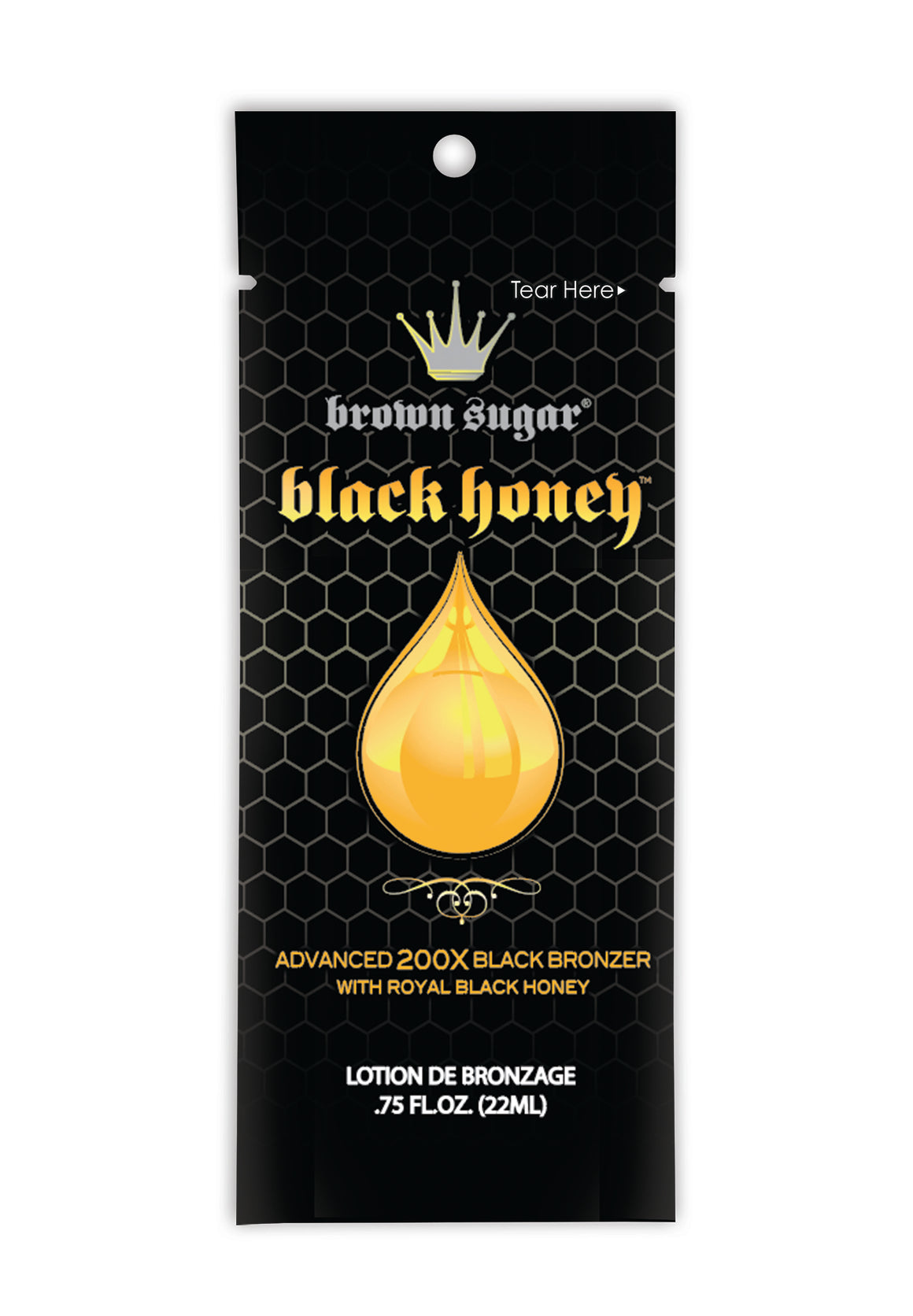 Brown Sugar - Black Honey Bronzer Tanning Lotion Packet