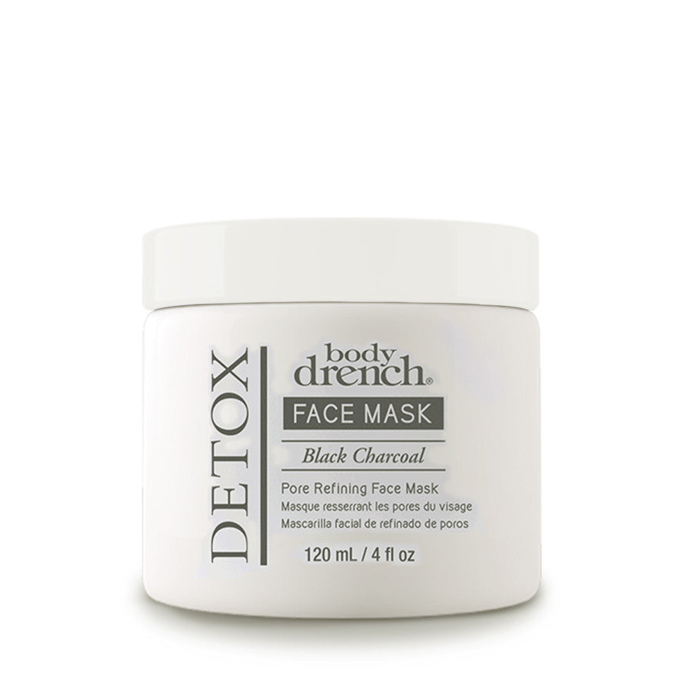 Charcoal Mask To Clear Pores And Detox Skin: Detox Black Charcoal Pore Refining Mask