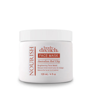 Body Drench Nourish Australian Red Clay Brightening Mask , Face, Body Drench, Sunless Deals