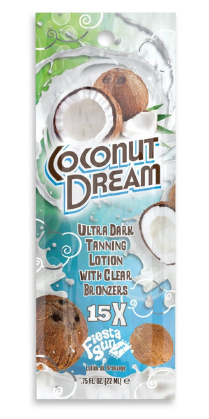 Fiesta Sun Coconut Dream Tanning Lotion Packet