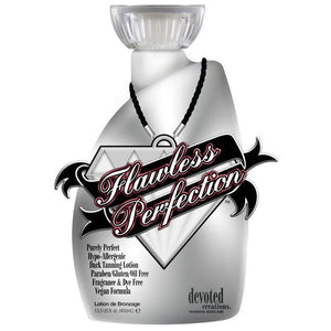 Flawless Perfection Hypo-Allergenic Dark Tanning Lotion 13.5 oz. , Bronzer, Devoted Creations, Sunless Deals