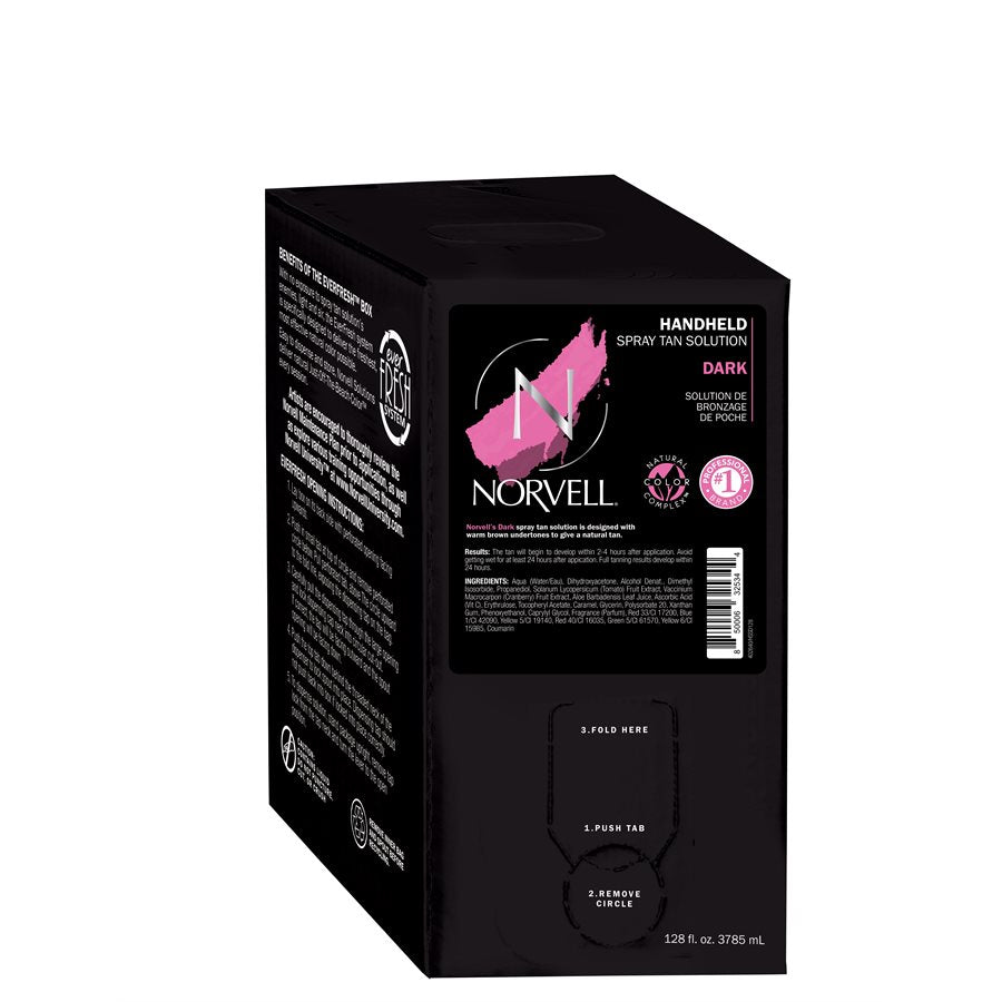 Norvell DarkHandheld Spray Tan Solution 128 oz.