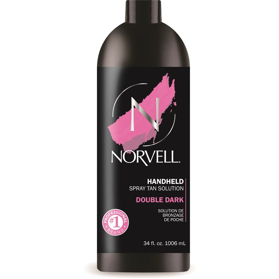 Norvell Double Dark Handheld Spray Tan Solution 34oz.
