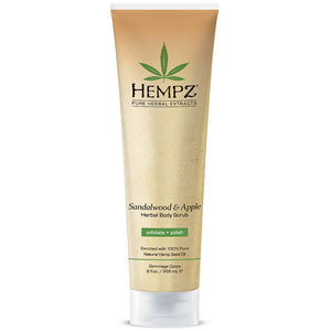 Hempz Body Scrub - Sandalwood & Apple , Body Scrub, Hempz, Sunless Deals