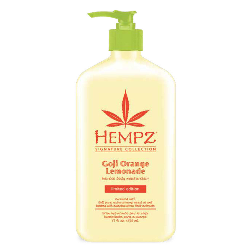 Hempz Goji Orange Lemonade Herbal Body Moisturizer 17 oz.