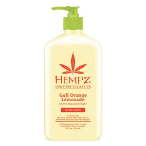 Hempz Goji Orange Lemonade Herbal Body Moisturizer 17 oz.-Sunless Deals
