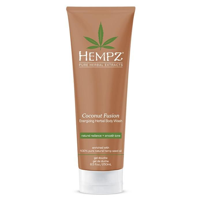 Hempz Coconut Fusion Energizing Herbal Body Wash 8.5 oz. , Body Wash, Hempz, Sunless Deals