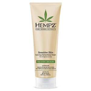 Hempz Sensitive Skin Calming Herbal Body Wash 8.5 oz. , Body Wash, Hempz, Sunless Deals