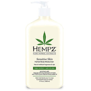 Hempz Sensitive Skin Herbal Body Moisturizer-Sunless Deals